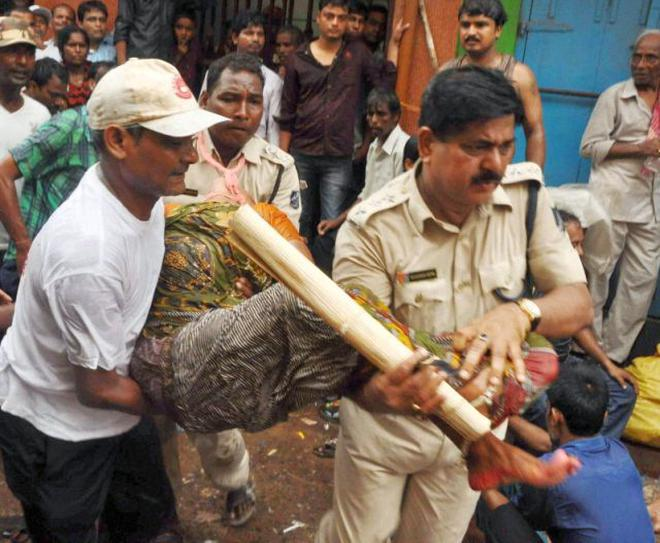 Two killed in stampede in Puri Rathyatra