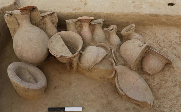 Village Auto Body >> Excavation at Harappan site reveals house plan - The Hindu