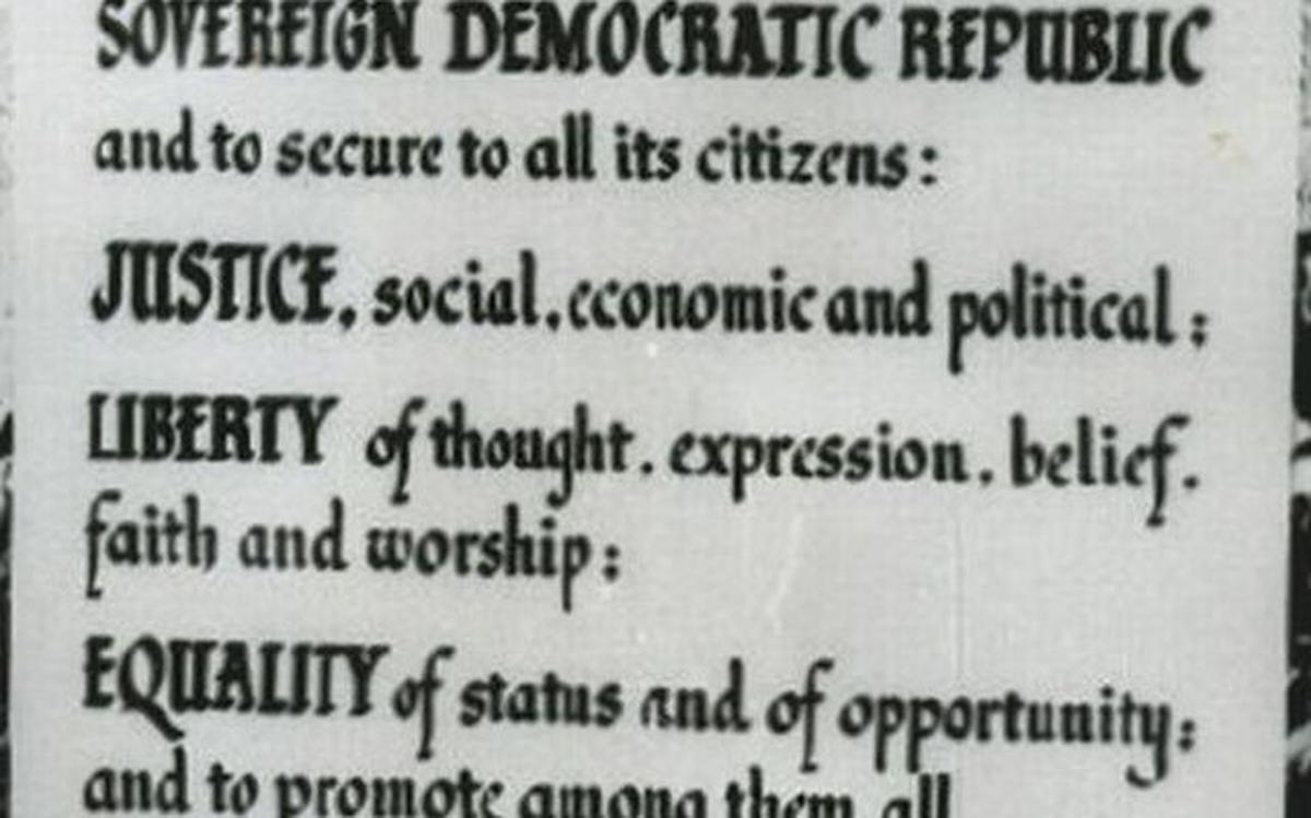 This is a photo of Preamble Printable within family constitution