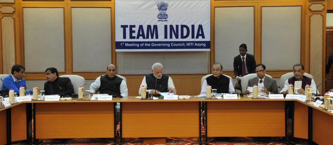 Image result for niti aayog meeting
