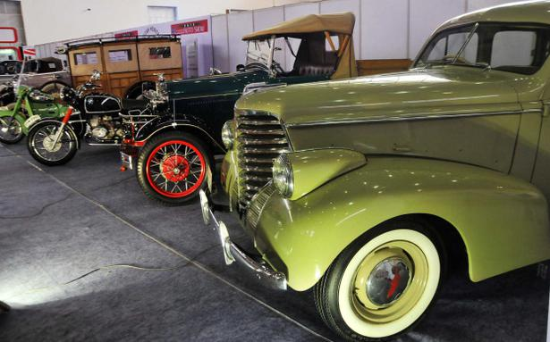 Vintage Cars For Sale In Hyderabad >> Vintage cars, bikes steal the show at auto exhibition - The Hindu
