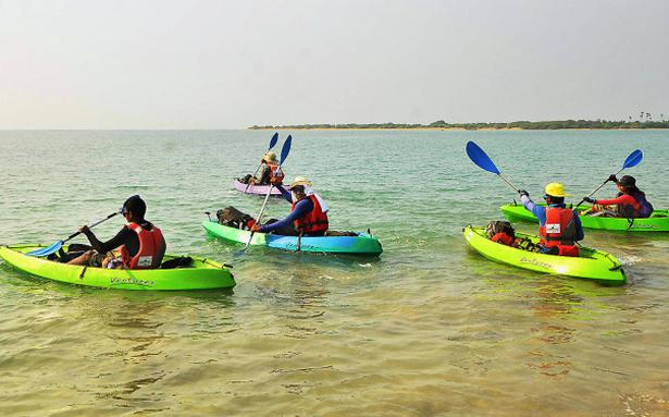 Kayaking Expedition Flagged Off The Hindu