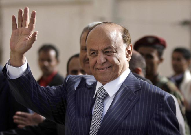 Yemens Newly Elected President Abd Rabu Mansour Hadi