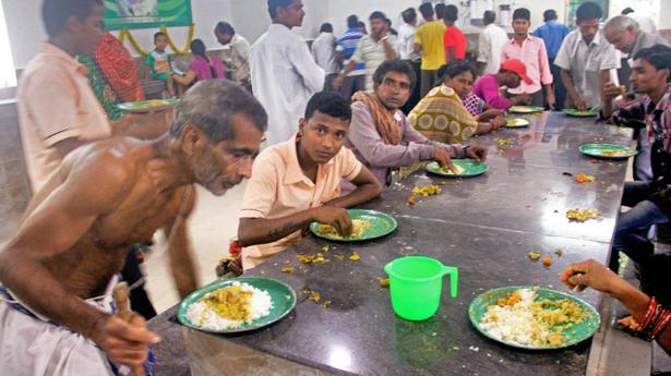 Aahar scheme launched in odisha the hindu for An najeeb cuisine