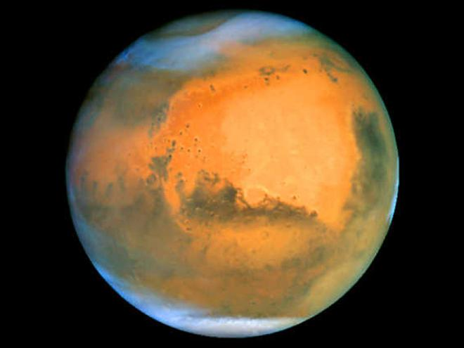 Glaciers of frozen water found on Mars