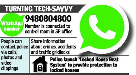 Now, contact the police on WhatsApp - The Hindu