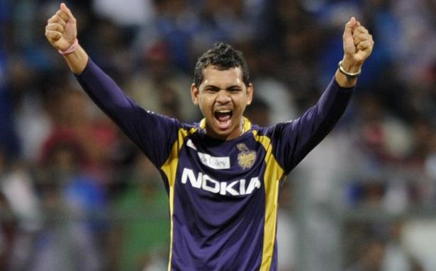 sunil narine suspended from bowling in clt20 final the hindu
