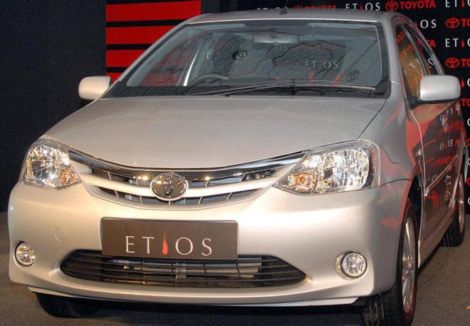 Government Officials Believe Toyota S Etios Is The Only Midsegment Car To Haveped Crash Test