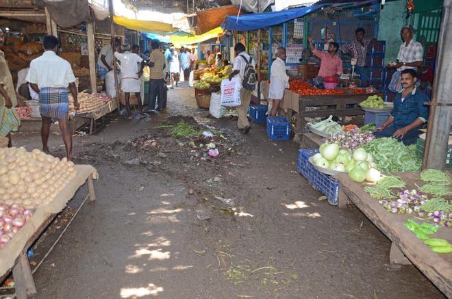 Image result for gandhi market trichy