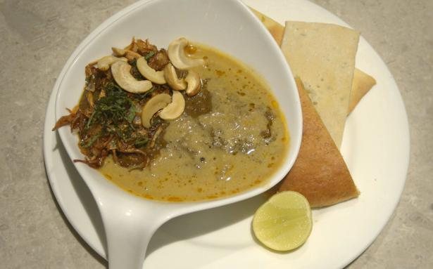 Hooked to haleem the hindu for Aum indian cuisine