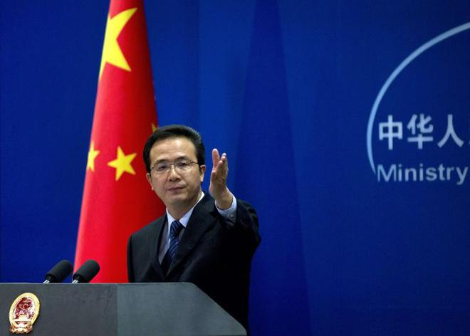 China asks India, U.S., Japan to ensure naval drills will be 'helpful' to peace in the region
