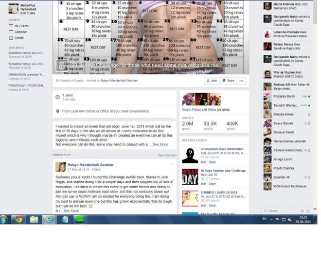 few friends on facebook
