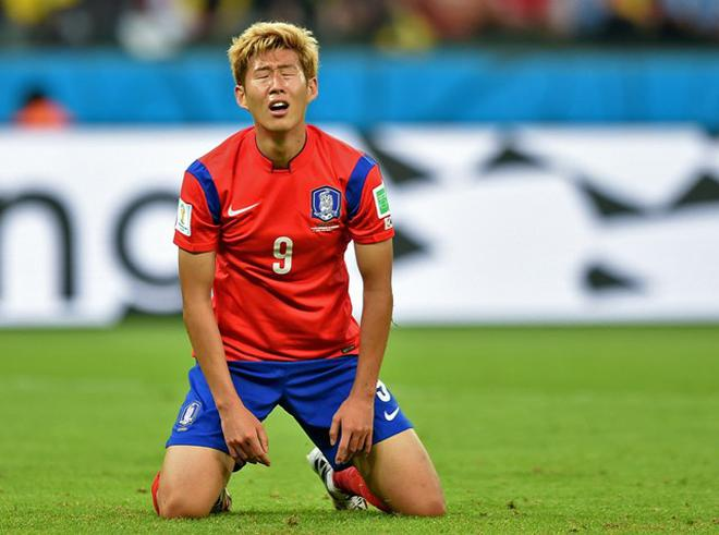 timeless design 91715 60b40 Consolation goal meaningless for South Korea's Son Heung Min ...