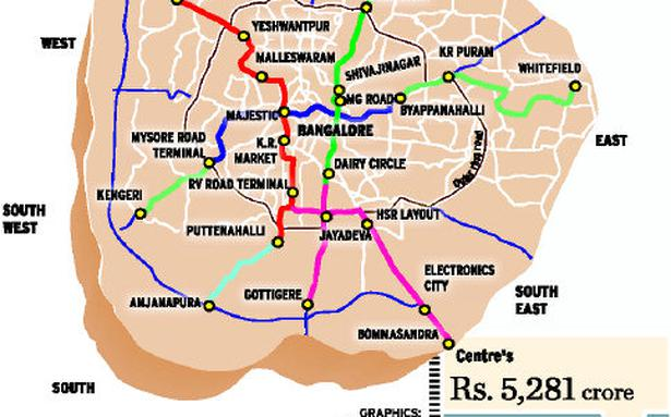 Metro phase 2 will link more corners of city - The Hindu