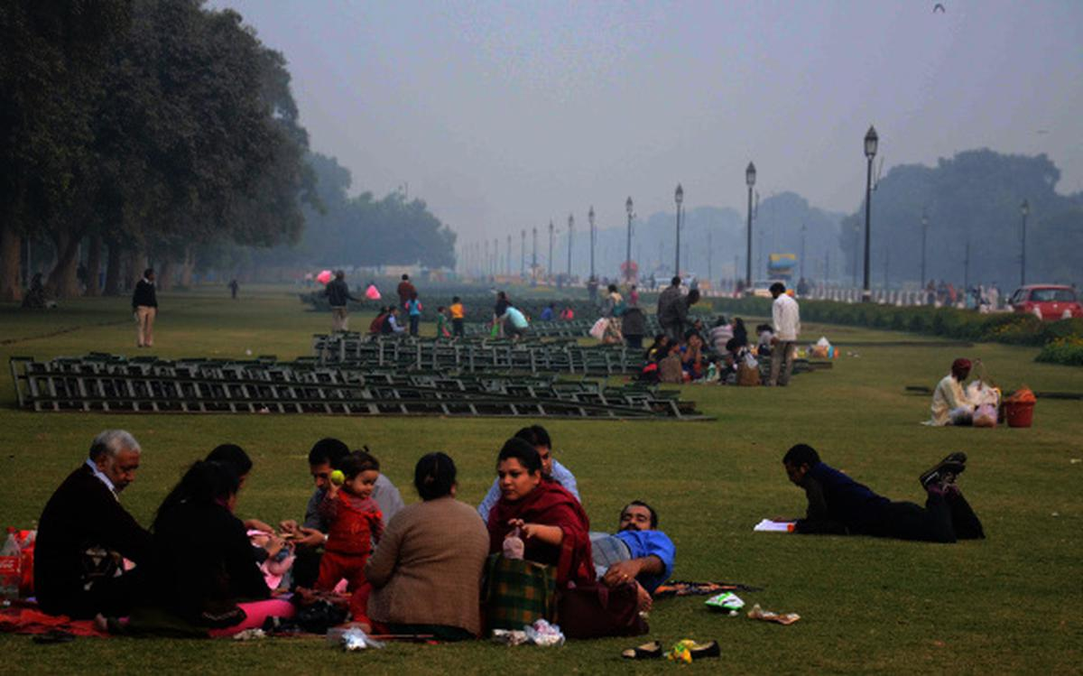 Now picnic to your heart's content at India Gate - The Hindu