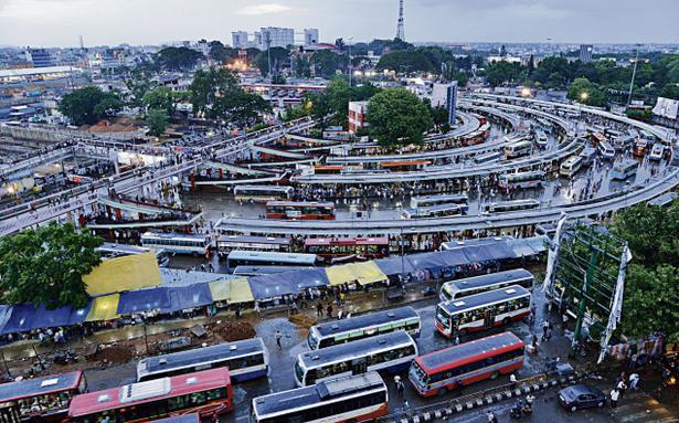 An End To The Majestic Traffic Mess Soon The Hindu