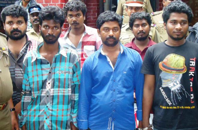 40 goons arrested in Thiruvallur!
