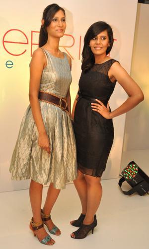 Bold meets flirty elegance the hindu niranjan sisters divya and navya malvernweather Images