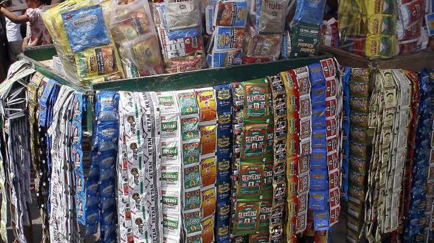 Tamil Nadu bans gutka, pan masala - The Hindu