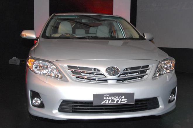 A File Photo Of Toyota Corolla Altis.