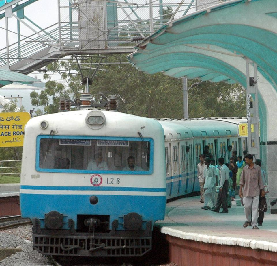 Hyderabad mmts stations