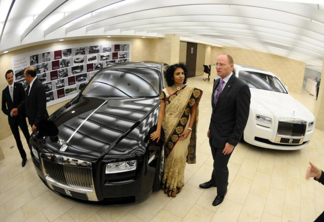 A Rolls Royce With A Desi Touch The Hindu