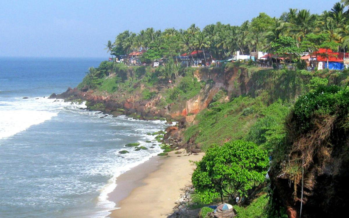 Varkala cliff to be nation's first geopark - The Hindu