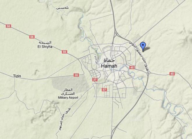 200 massacred in Hama, claim Syrian activists - The Hindu