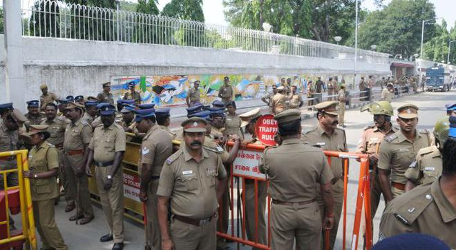 US Consulate To Remain Closed Till Wednesday The Hindu - Us consulate chennai map