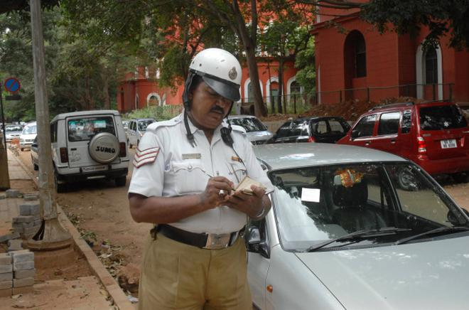the traffic police say they regularly come across disagreement from vehicles owners stating that they have