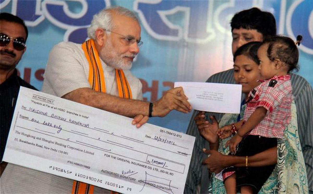 Modi has over Rs 1 crore in assets - The Hindu