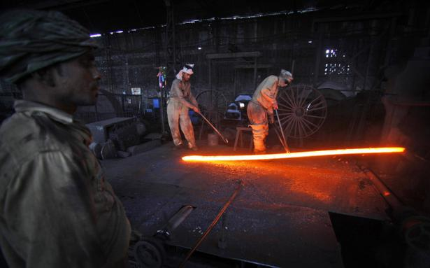 iron steel industry in india