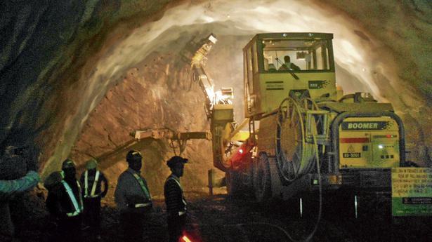 india u0026 39 s longest road tunnel under construction in j u0026k