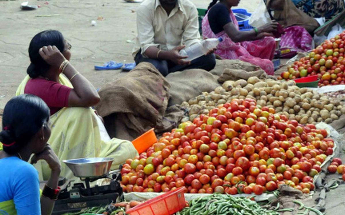 Problems of all hues in Rythu Bazars - The Hindu
