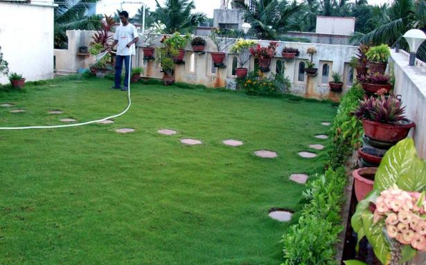 Raising a roof garden is a challenging task hyderabad for Garden designs in pakistan