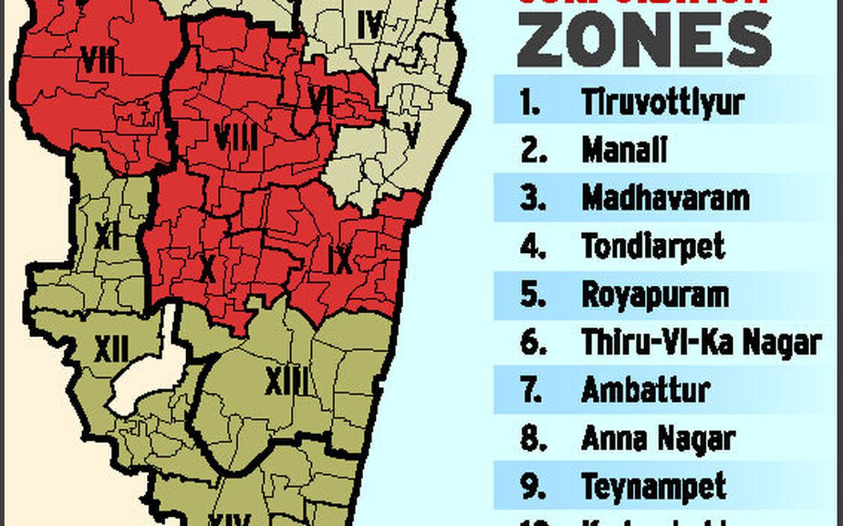 Expanded Chennai Corporationto be divided into 3 regions ...