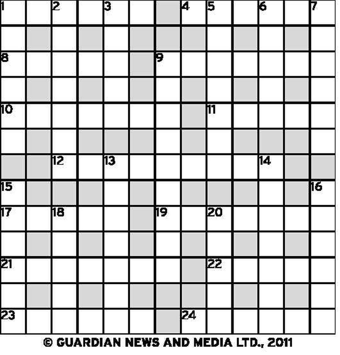 guardian newspaper quick crossword