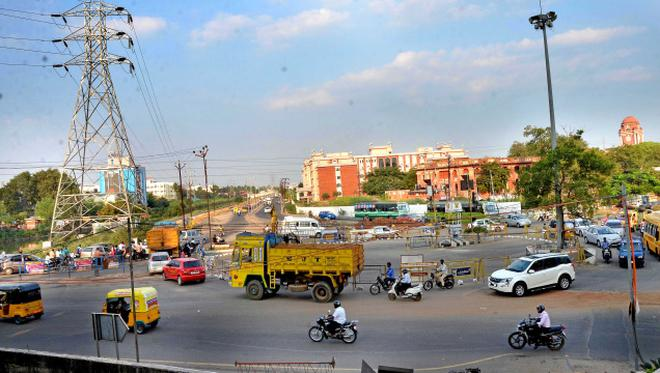 Image result for mgr roundabout Trichy