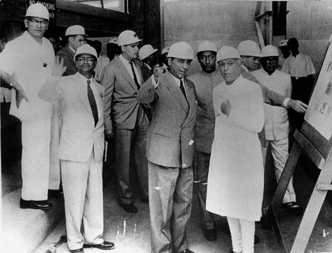 Image result for nehru's nuclear programme