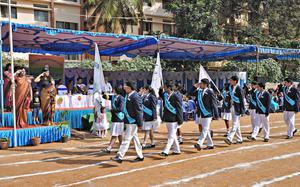 Students aim to be faster higher stronger at sports meet in students aim to be faster higher stronger at sports meet in school the hindu altavistaventures Images