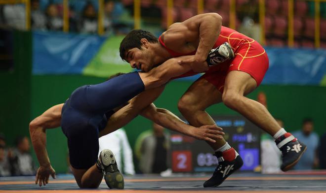Image result for wrestling india