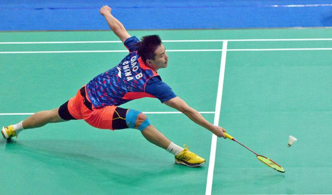 badminton qiao bin saves the day as china downs singapore the hindu