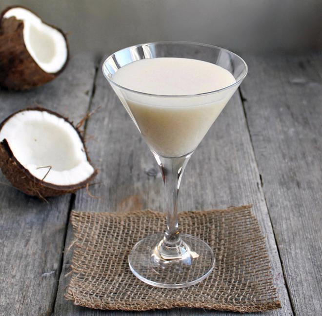 Tender coconut punch