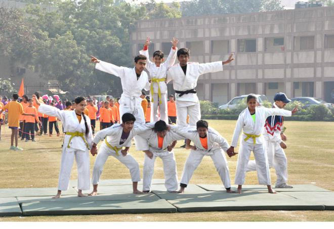 Sports day at sl suri dav public in school the hindu sports day at sl suri dav public altavistaventures Images
