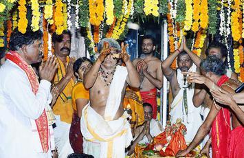 Celestial wedding of Lord Siva, Parvati held - The Hindu