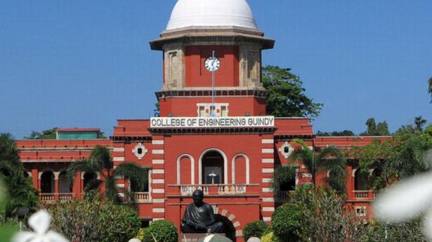 Anna University begins online registration for admission - The Hindu
