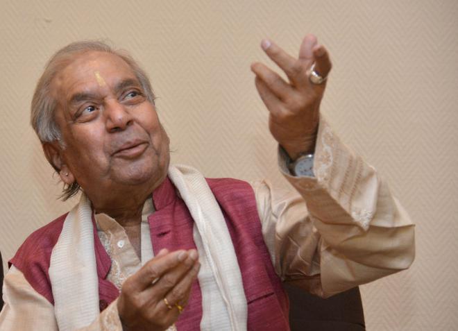 Pandit Birju Maharaj Photo Bhagya Prakash K.