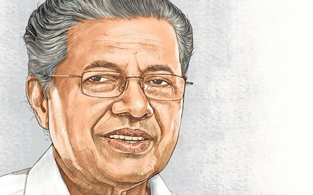 pinarayi vijayan  steeled by a life of relentless
