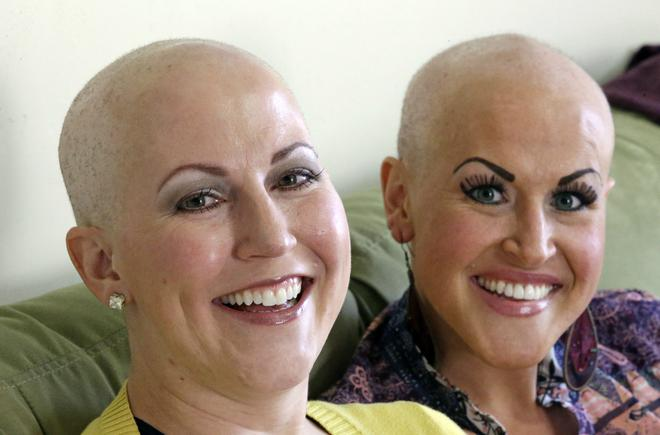 Shaved her head with razor foto 338