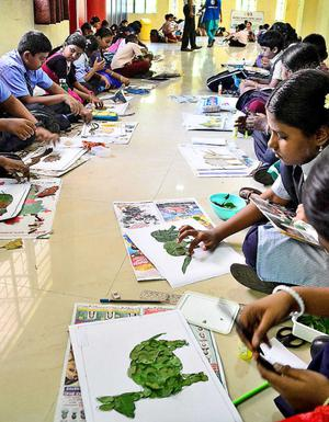 World Environment Day' drawing compeion - The Hindu on